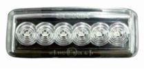 IBQE KSC16025 - PILOTO INTERMITENTE ESTRIBO DER/IZQ S/R CP/CR/CG LED BLANCO